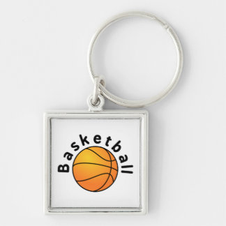 Basketball with Basketball Title Key Chain