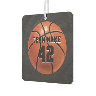 Basketball with Name Car Air Freshener