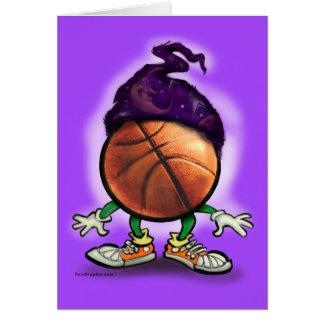 Basketball Wizard Greeting Card
