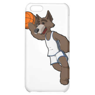Basketball Wolf iPhone 5C Cases