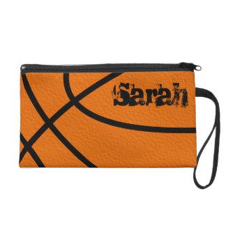 Basketball Wristlet Bag