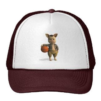 Basketballer Piglet Hats