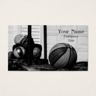 Basketballs Business Card