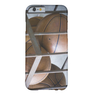Basketballs in a basket barely there iPhone 6 case