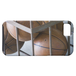 Basketballs in a basket case for the iPhone 5