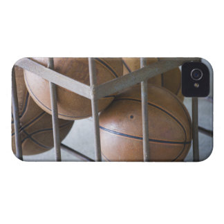 Basketballs in a basket iPhone 4 cover