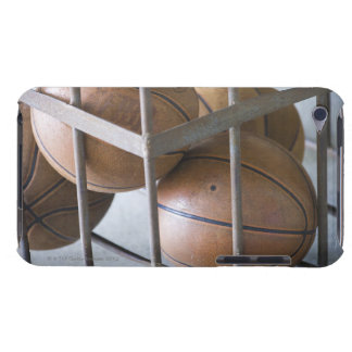 Basketballs in a basket iPod touch case