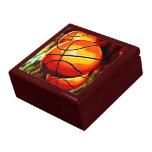 Basketballs Keepsake Jewellery Gift Box
