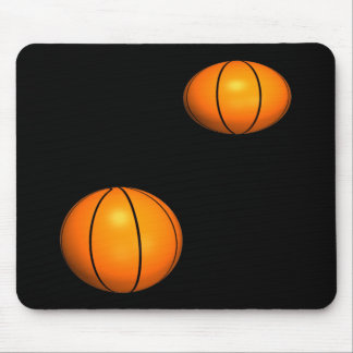 Basketballs Mouse Pad
