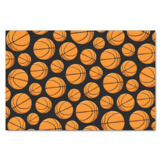 Basketballs Pattern Tissue Paper