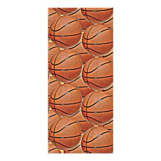 BASKETBALLS FULL COLOR RACK CARD