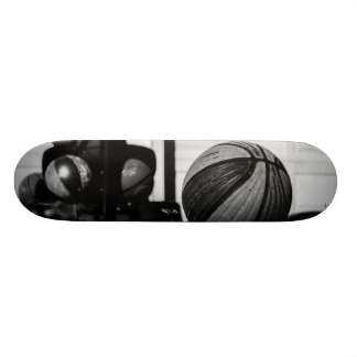 Basketballs Skate Boards