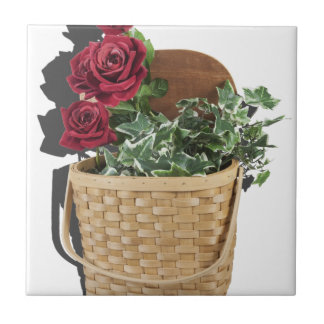 BasketFullRedRoses051913.png Small Square Tile