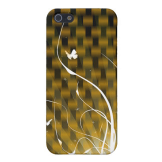 Basketweave Jungle Designer iPhone 4 Case For iPhone 5/5S