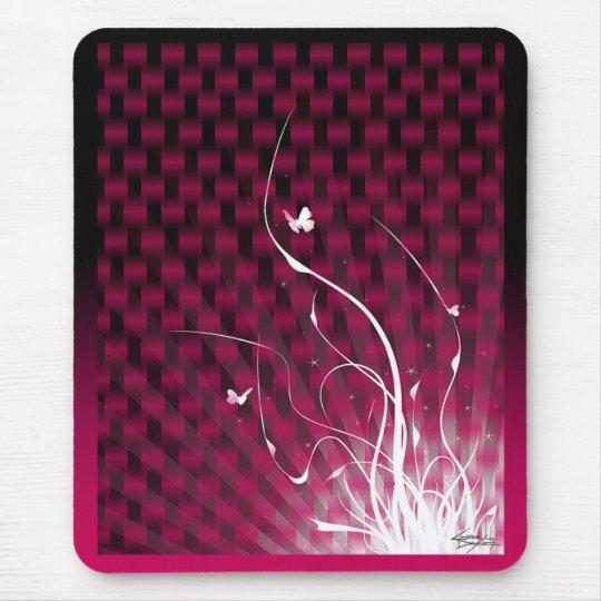 Basketweave Jungle Mousepad (magenta)