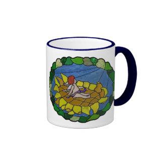 Basking in the Son Ringer Mug