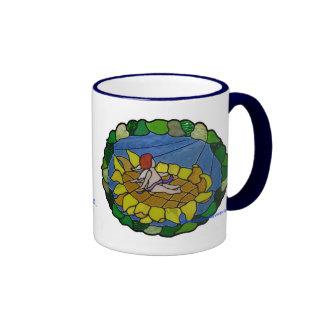 Basking in the Sun Ringer Mug
