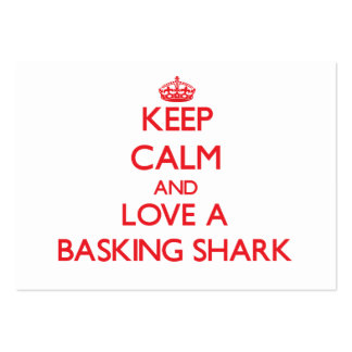 Basking Shark Business Card