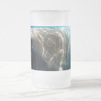 Basking shark (Cetorhinus maximus) Frosted Glass Mug