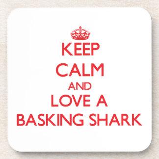 Basking Shark Beverage Coaster
