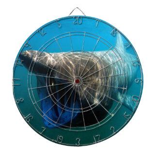 Basking Shark Dartboard With Darts