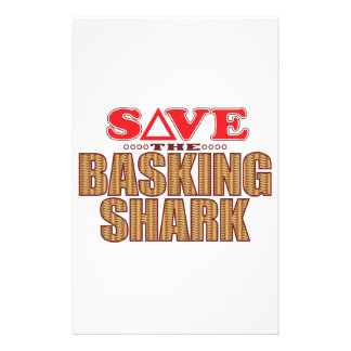 Basking Shark Save Stationery