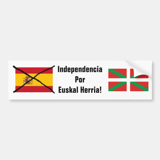Basque Country Independence bumper sticker