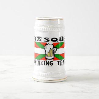 Basque Drinking Team Beer Stein Mug