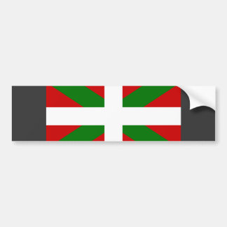 Basque Flag Bumper Sticker