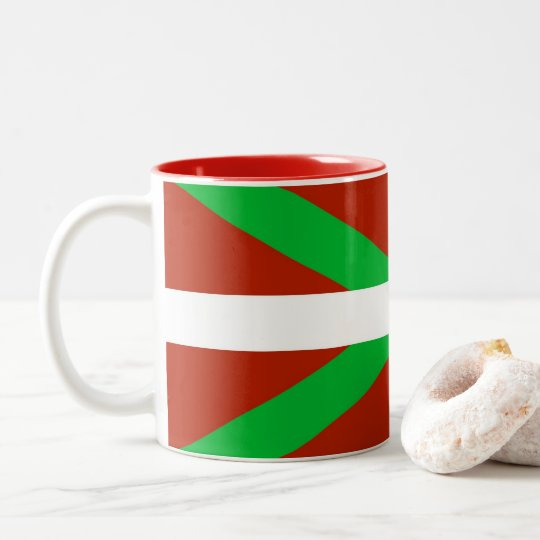 Basque Flag Ikurrina Coffee Mug
