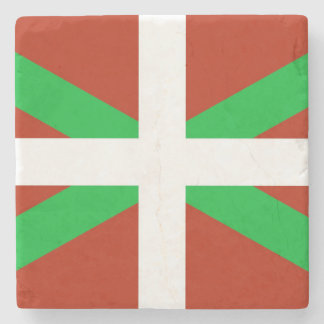 Basque Flag Ikurrina Drink Coaster