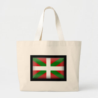 Basque Flag   País Vasco Large Tote Bag