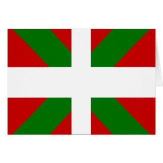 Basque High quality Flag Greeting Card