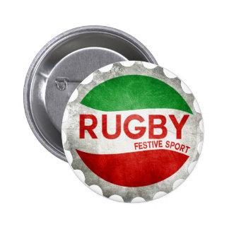 Basque Rugby festive sport 6 Cm Round Badge