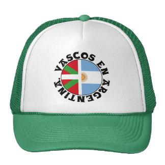 Basques in Argentina logo, Cap