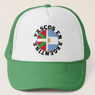 Basques in Argentina logo, Trucker Hat