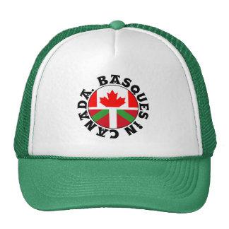 Basques in Canada logo, Cap