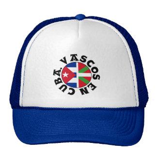 Basques in Cuba logo, Cap