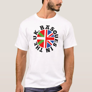 Basques in the UK T-Shirt
