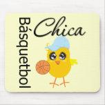 Básquetbol Chica Mouse Mats