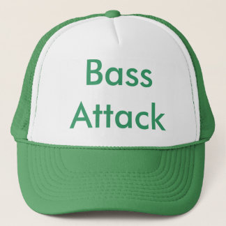 Bass Attack Trucker Hat