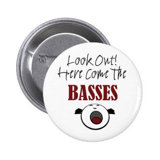 Bass 6 Cm Round Badge