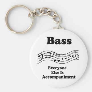 Bass Choir Gift Key Ring