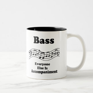 Bass Choir Gift Two-Tone Coffee Mug