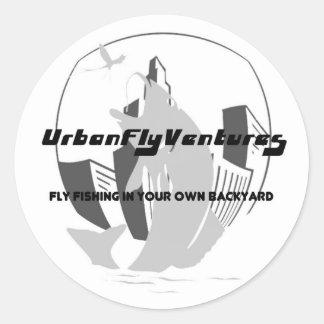Bass City Logo Sticker