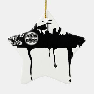 Bass City Scape Ceramic Star Decoration