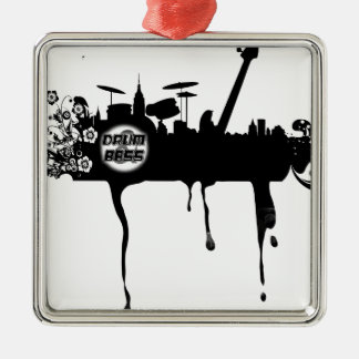 Bass City Scape Christmas Ornament