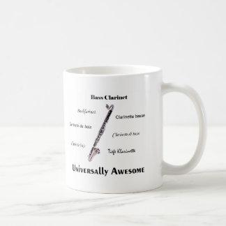 Bass Clarinet Coffee Mug
