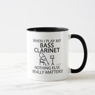Bass Clarinet Nothing Else Matters Mug
