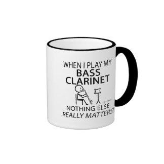 Bass Clarinet Nothing Else Matters Ringer Coffee Mug